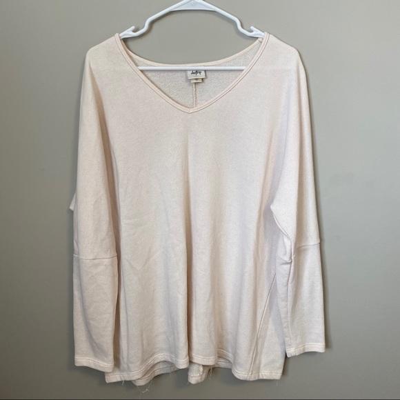 Daytrip Sweaters - Oversized V-Neck Sweater